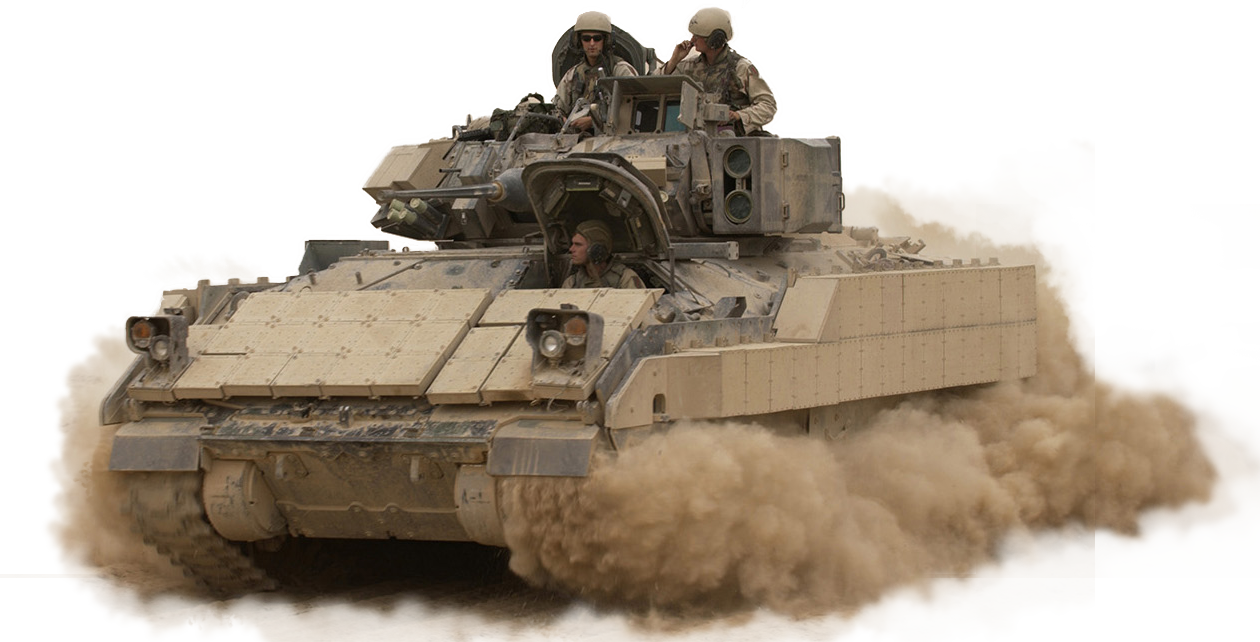 The Bradley Fighting Vehicle